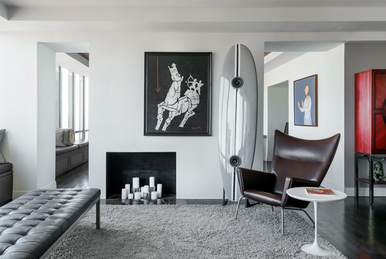 860 UN Plaza Living Room