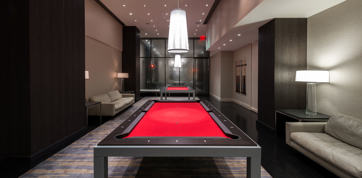 25 Broad Street Lounge Pool Table