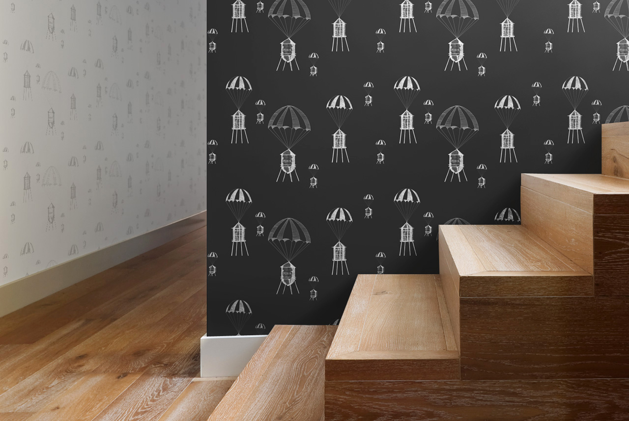 Chutes Wallpaper