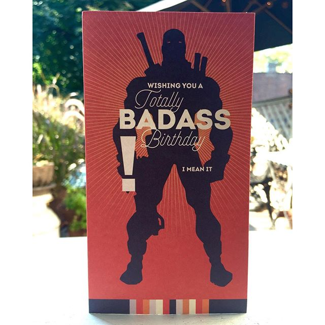 #badassdesign, Aug 30, 2015 @ 12:18